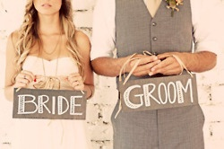 bride and groom <3