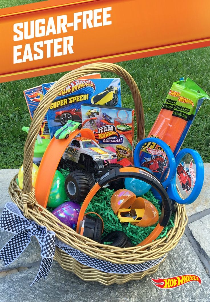 45 best imaginative gift giving images on pinterest hot wheels get your kids racing this spring without the sugar rush give your kids the ultimate easter basket ideaseaster negle