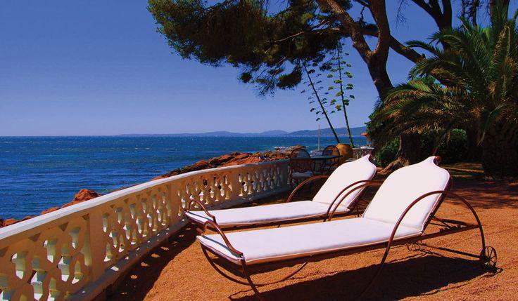 La Villa Mauresque - near St Raphael- stunning seafront hotel