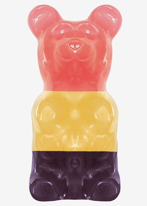 Giant gummy bear wow!