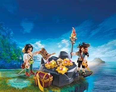 Playmobil Κρησφύγετο Πειρατικού Θησαυρού (6683) 9,99