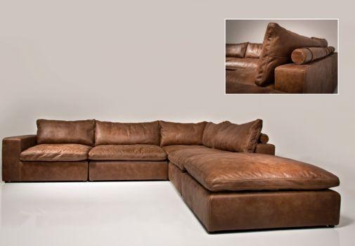 Lionel Richie elementen sofa aus leder afrika toledo het Anker