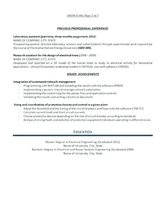 professional resume samples free writing a resume sample