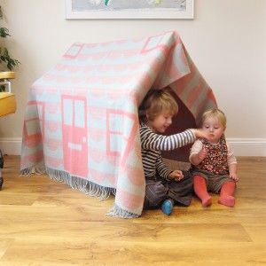 House Throw Play Den Set by Donna Wilson