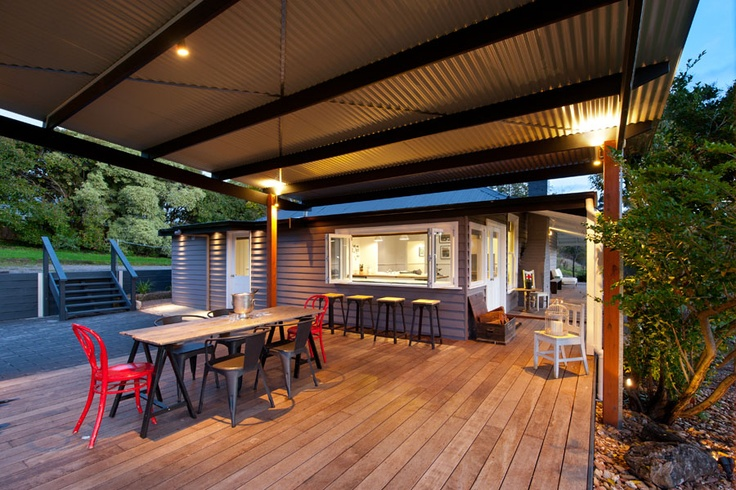 Mount Olive Daylesford - Covered deck and outdoor setting