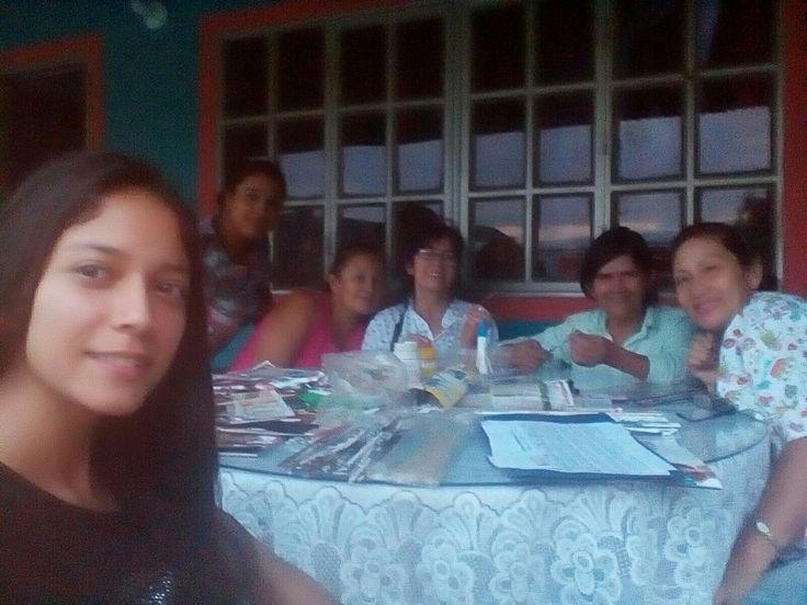 #fundacionsocialberaca, dictando taller en otra vereda de nuestra Vega Cundinamarca.