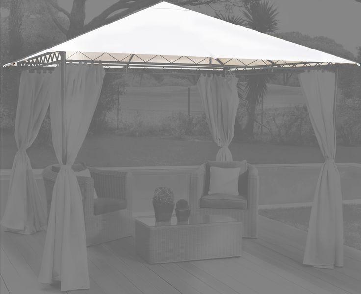 AKI+Bricolaje,+jardinería+y+decoración.+ Repuesto+toldo+pérgola+metal+ Disponible+en+dos+medidas