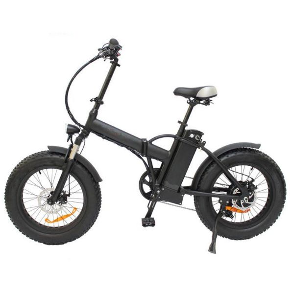 48 Volt Folding Electric Snow E Bike Bicycle 20 Inch Wheels