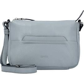 Bree Faro 1 Shoulder Bag Woman's Bag Leather 23 Cm (silver Grey)