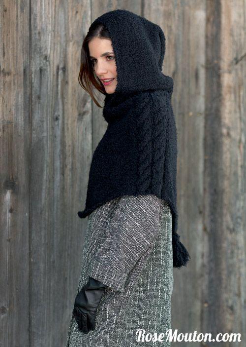 De nombreux modèles d'écharpes, snood, cols, bonnets et accessoires de la…