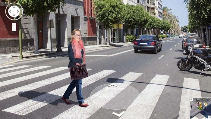 New Google Streep View To Provide Panoramic Imagery Of Meryl Streep | The Onion - America's Finest News Source