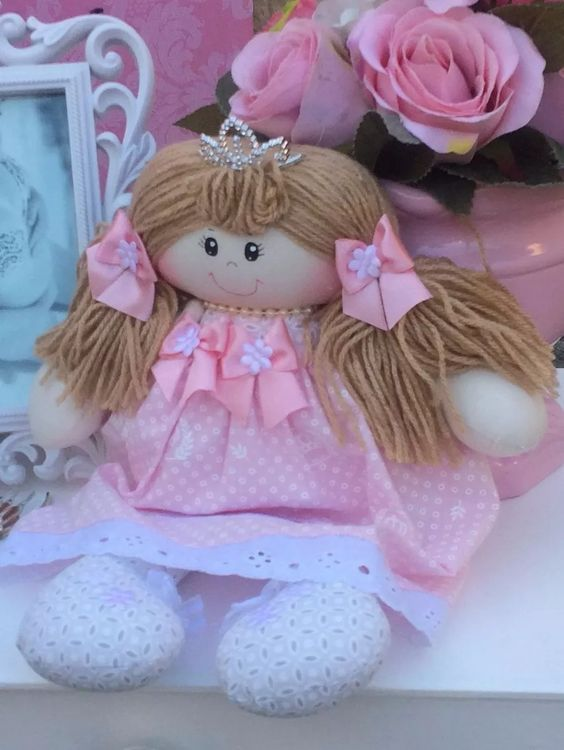 boneca de pano personalizada  ( 40cm )