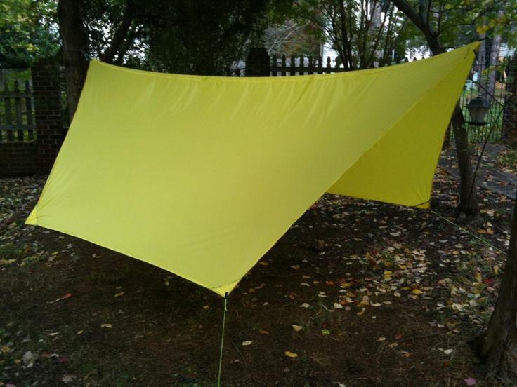 How to make a DIY Camping Hammock Tarp: MYOG