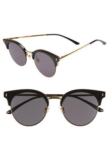 Lunettes de Soleil Polarisées Wayfarer New Gentle man or Women Monster eyeware V brand JUMPING JACK 02(Y) sunglasses for Gentle monster sunglasses -sliver frame yellow lens AVHWt