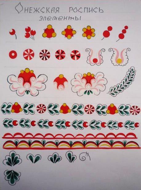 Картинки по запросу онежская роспись