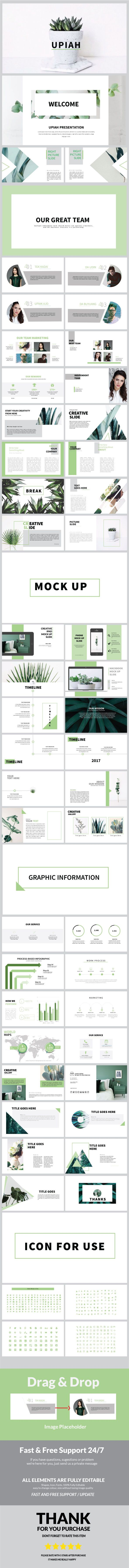 Upiah Multipurpose Powerpoint - Business PowerPoint Templates
