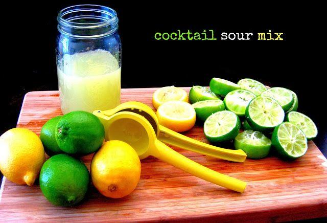homemade sour mix and Riki Tiki Tiki recipe