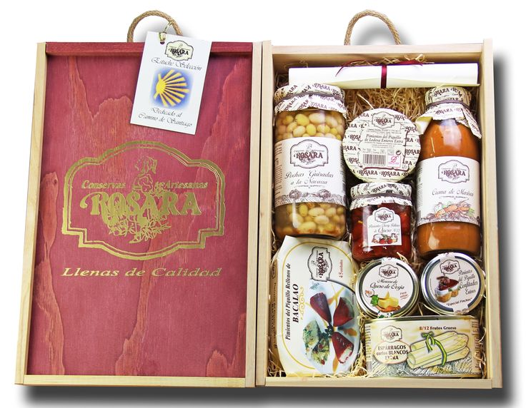 DELUXE BOX CAMINO DE SANTIAGO   Rosara