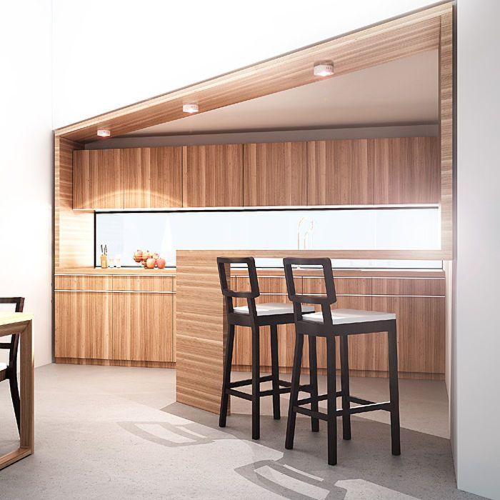 SLENDER 12 R SURFACE MOUNTED   rendl light studio   Flat surface-mounted LED light. #lighting #design #LED #ceiling