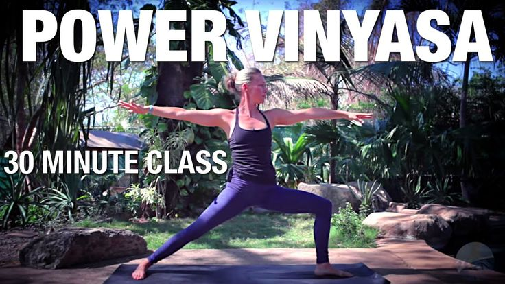 Five Parks Yoga - 30 Minute Power Vinyasa
