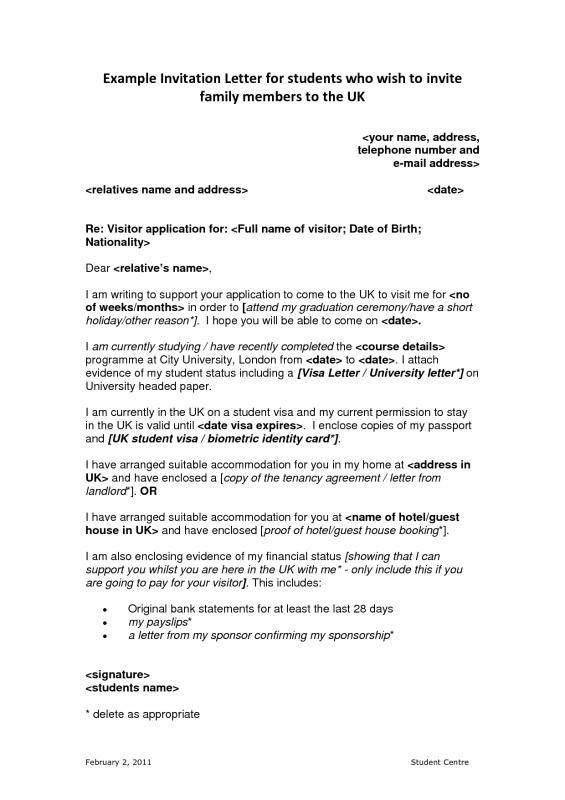 u visa recommendation letter