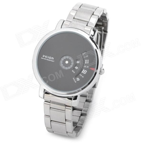 Brand: Wilon; Model: 938G; Quantity: 1 Piece; Color: Black + silver; Band Material: Stainless steel; Suitable for: Adults; Gender: Men's; Style: Wrist Watch; Type: Fashion Watches; Display: Digital; Movement: Quartz; Display Format: 12 hour format; Water Resistant: Daily Water Resistant (not for Swimming); Dial Diameter: 4 cm; Dial Thickness: 0.8 cm; Band Length: 22 cm; Battery: 1 x SR626SW; Packing List: 1 x Watch; 1 x Battery; http://j.mp/1ljK7T8