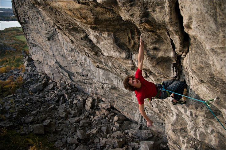 Adam Ondra o lezení v Norsku - HUDY blog