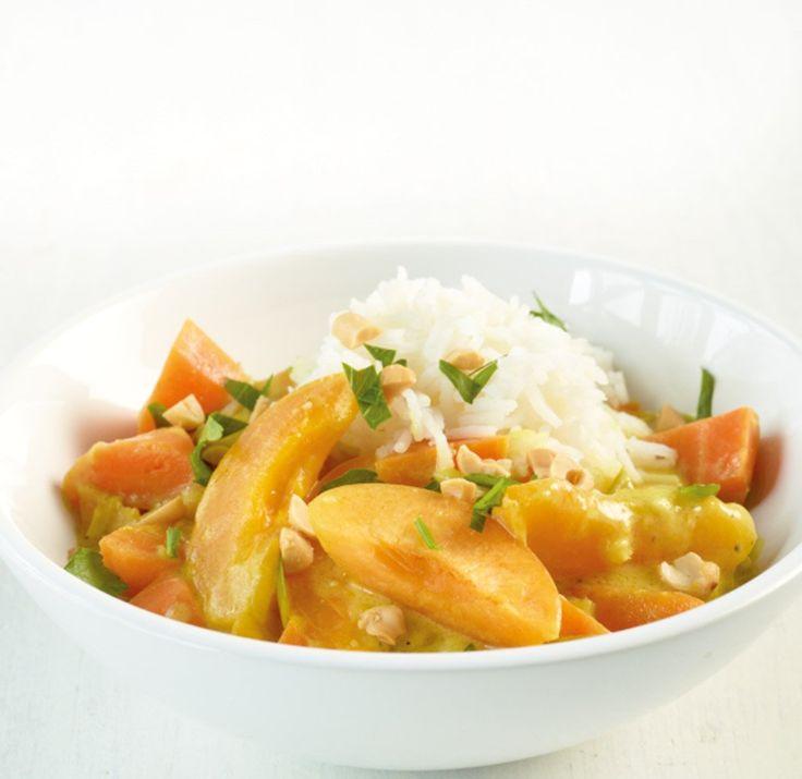 Weil wir den asiatischen Klassiker mit frischen Aprikosen aufgepeppt haben, können wir gar nicht genug bekommen und nehmen gerne eine zweite Portion!