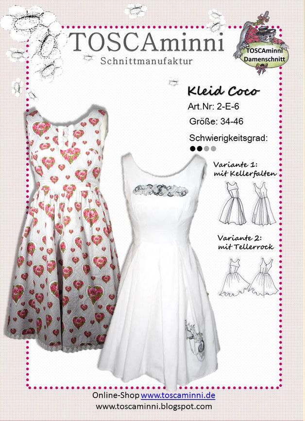 63 best nähen Kleider images on Pinterest | Costura, Sew dress and ...