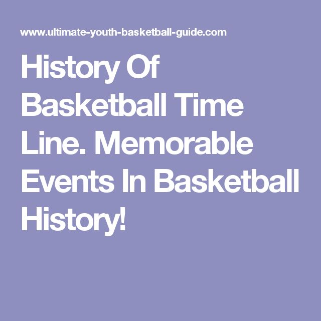 best history of basketball ideas  history of basketball time line memorable events in basketball history