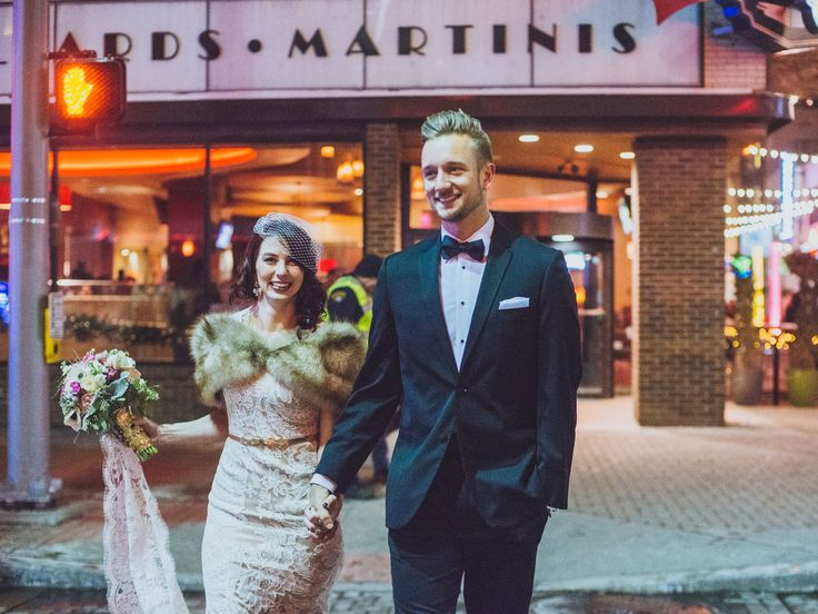 Looking for some menswear inspiration? Check out these dapper dudes. (Pssst: All of 'em created their wedding day looks with suits and tuxes from Men's Wearhouse.)  Men's Wearhouse - Groom Style