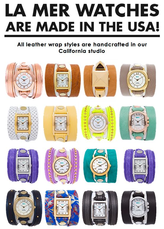 LA MER WATCHES These great looking, stylish watches are made in the USA! #madeintheusa #watches http://www.pittsburghskinnywraps.com/ or https://www.facebook.com/#!/pittsburghskinnywraps #itworks #skinnywrap #health #fitness #livelonger #homebusiness #makemoney #workfromhome #healthy #allnatural #skinproducts #tighten #tone #fatfighter #loseweight #stretchmarks #Pittsburgh #sahm #wahm #livingdebtfree #vitamins #proteinshakes #mealsupplements