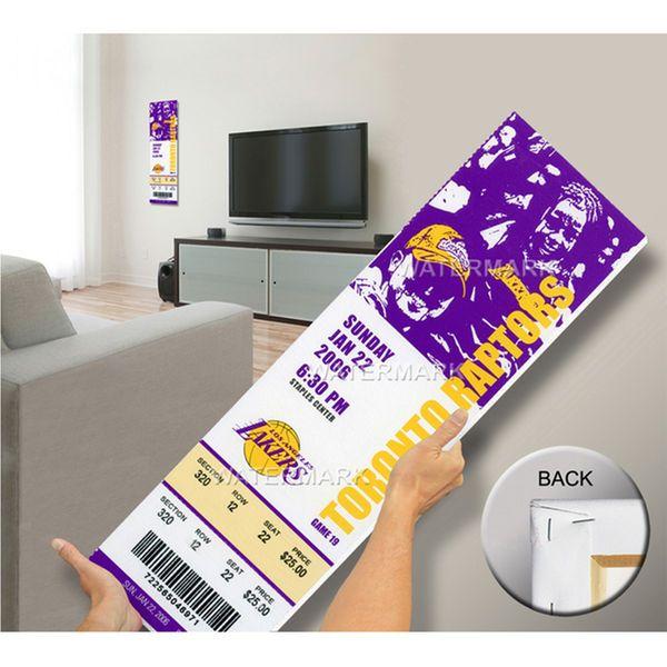 Kobe Bryant 81 Point Game Mega Ticket - Los Angeles Lakers - $79.99