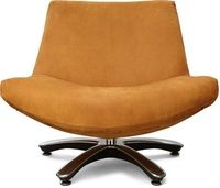 fauteuil coco in kenia cognac leer met draaivoet.jpg