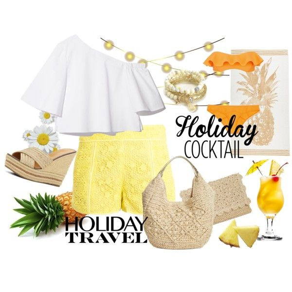 Friday Holiday by ulstblog on Polyvore featuring moda, Paul & Joe Sister, Lisa Marie Fernandez, ALDO, Straw Studios and Juicy Couture