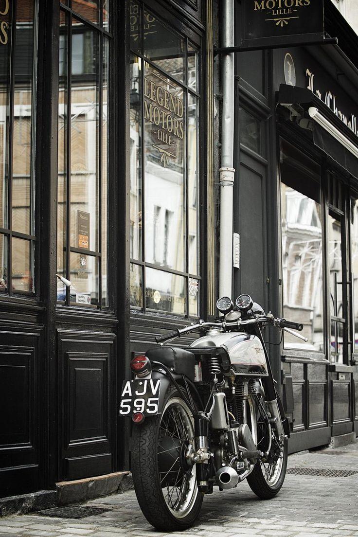 "Norton Manx ""Big Plunger 1948 | ""LEGEND MOTORS"