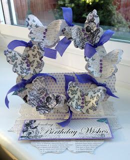 Craftwork Cards Blog: Butterflies and Bows