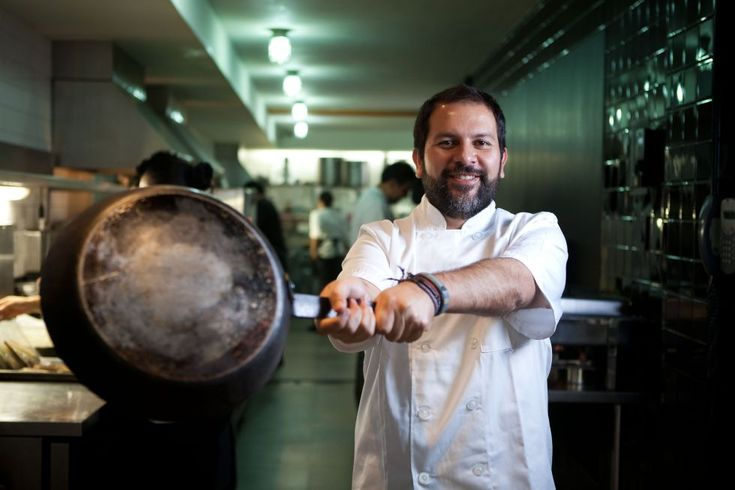 Cheff Enrique Olvera owner of Restaurant Pujol, number 17th among the World's 50 Best Restaurants