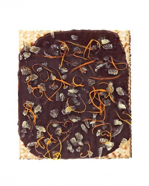 Passover Desserts // Crystallized Ginger & Orange Zest Matzo Recipe