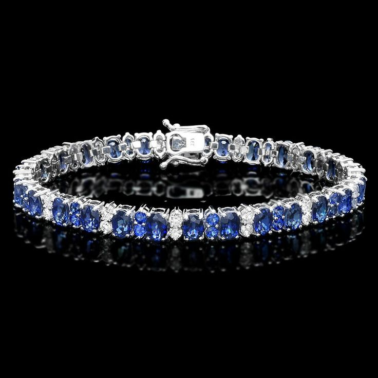 youtube bangle sapphire blue bangles watch bracelet diamond majestic