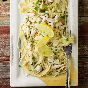 Lemon Chicken Pasta....Made this for dinner last night and it was delicious!  Leftovers for lunch were great too!!