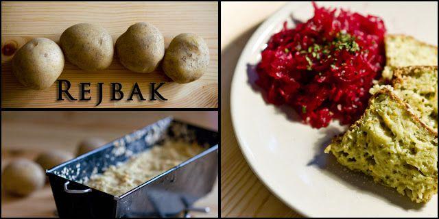 Blog kulinarny: Rejbak kurpiowski inaczej