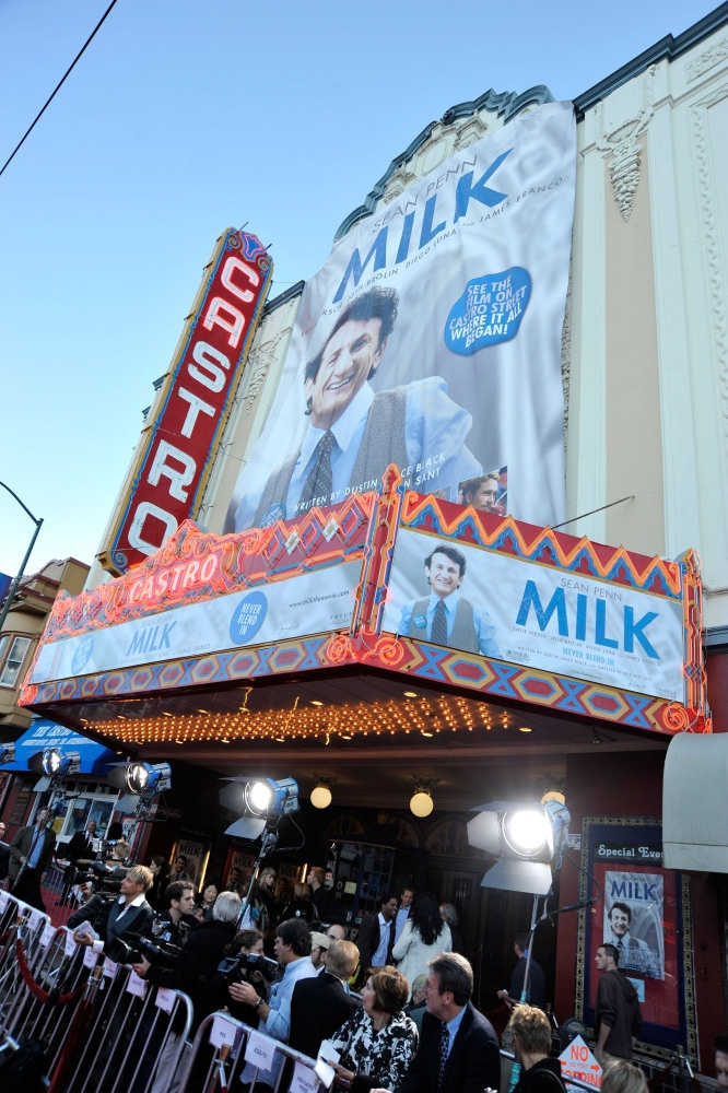 "The Premiere of ""Milk"" at the Castro Theater"