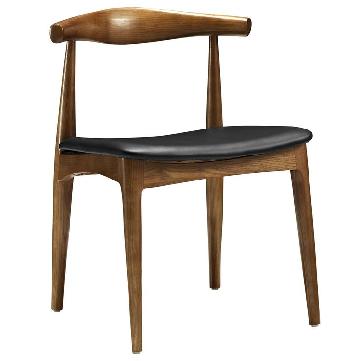 Mid-Century Curved Back Dining Chair – First of a Kind