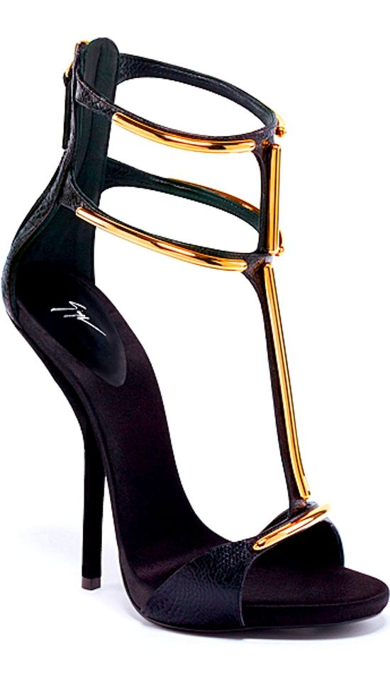 Giuseppe Zanotti. I love anything with an ankle strap and these are le sex.