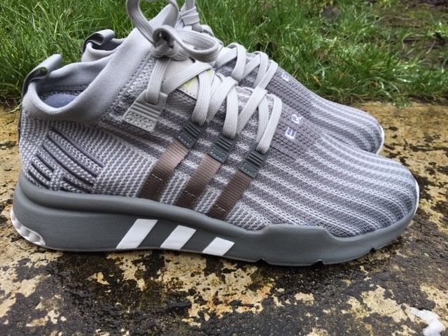 Adidas ® EQT SUPPORT MID ADV PK Size 8 UK Mens Trainers Grey