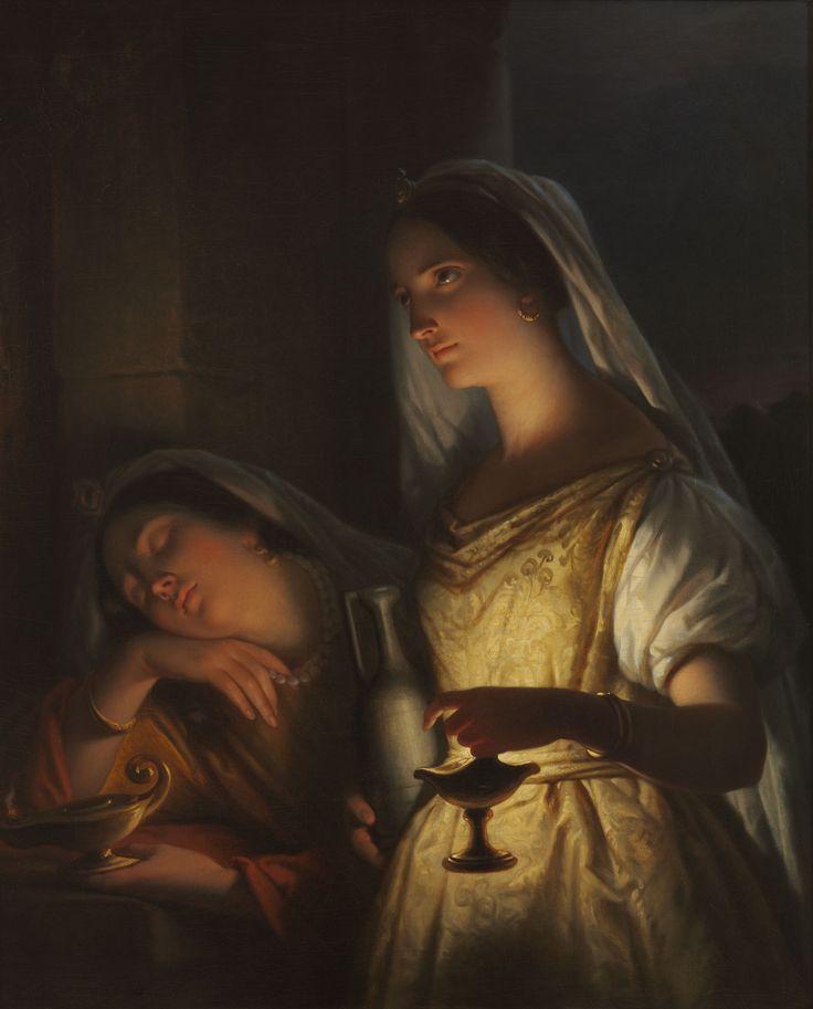 """""""La Parabola de las Diez Virgenes"""" (Mateo 25:1-13 )"""