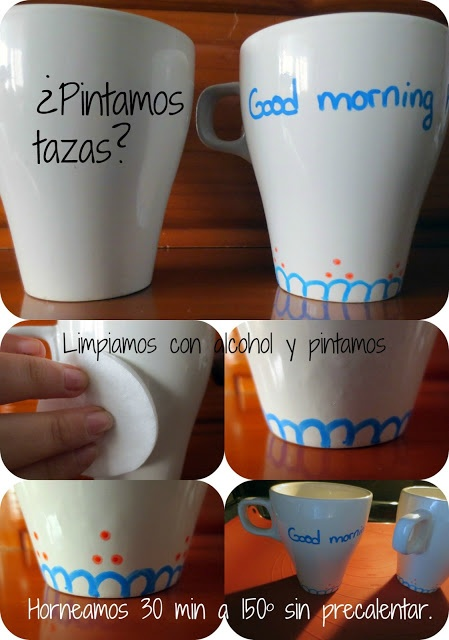 Tazas decoradas DIY mugs