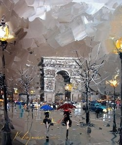 Art painting wonderful style by Kal Gajoum