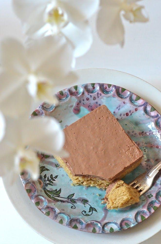 Gâteau chocolat vanille, vegan et sans gluten